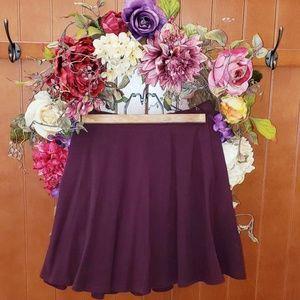 Maroon / Burgundy Skater / Circle Skirt ❤💜